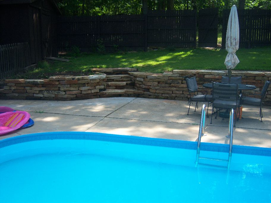 Retaining Wall Pool Ideas swimming pools with retaining walls google search Natural Retaining Wall Stone Mo