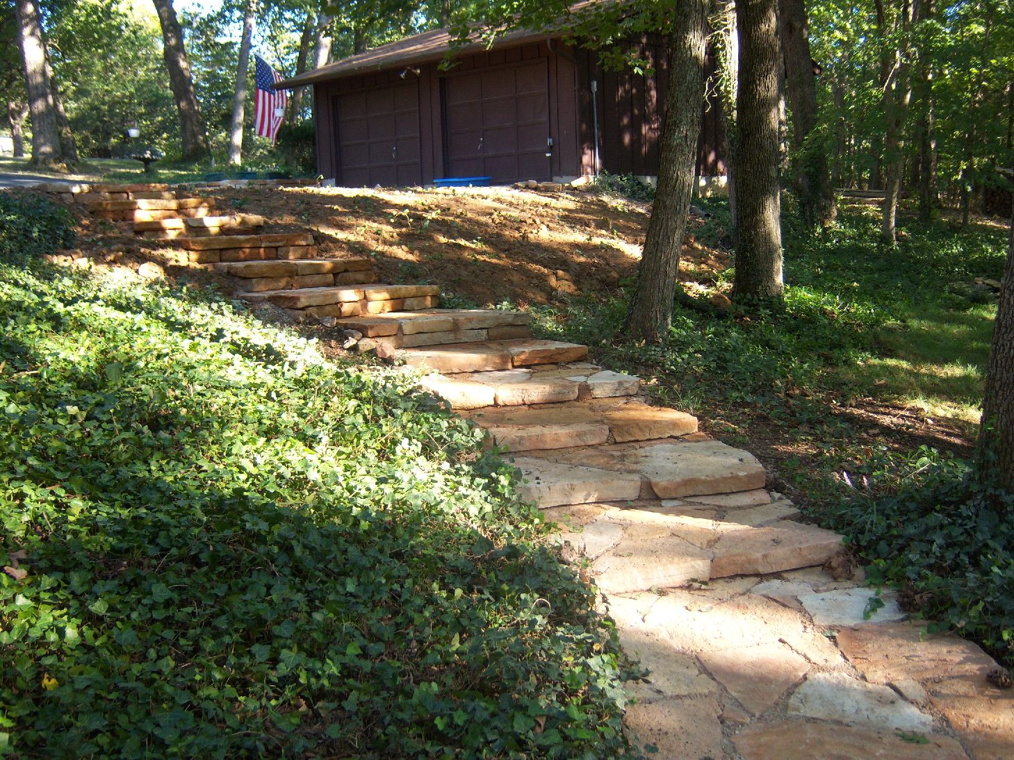 Natural Stone Steps And Benches Ideas From Gottschalk Quarry