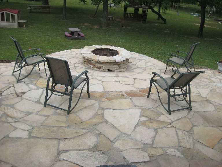 Ozark Flagstone Steppers Patio Stone 3 00 Sq Ft