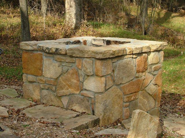 Stone Hearth, Firepit, and Fireplace Ideas - Gottschalk Quarry